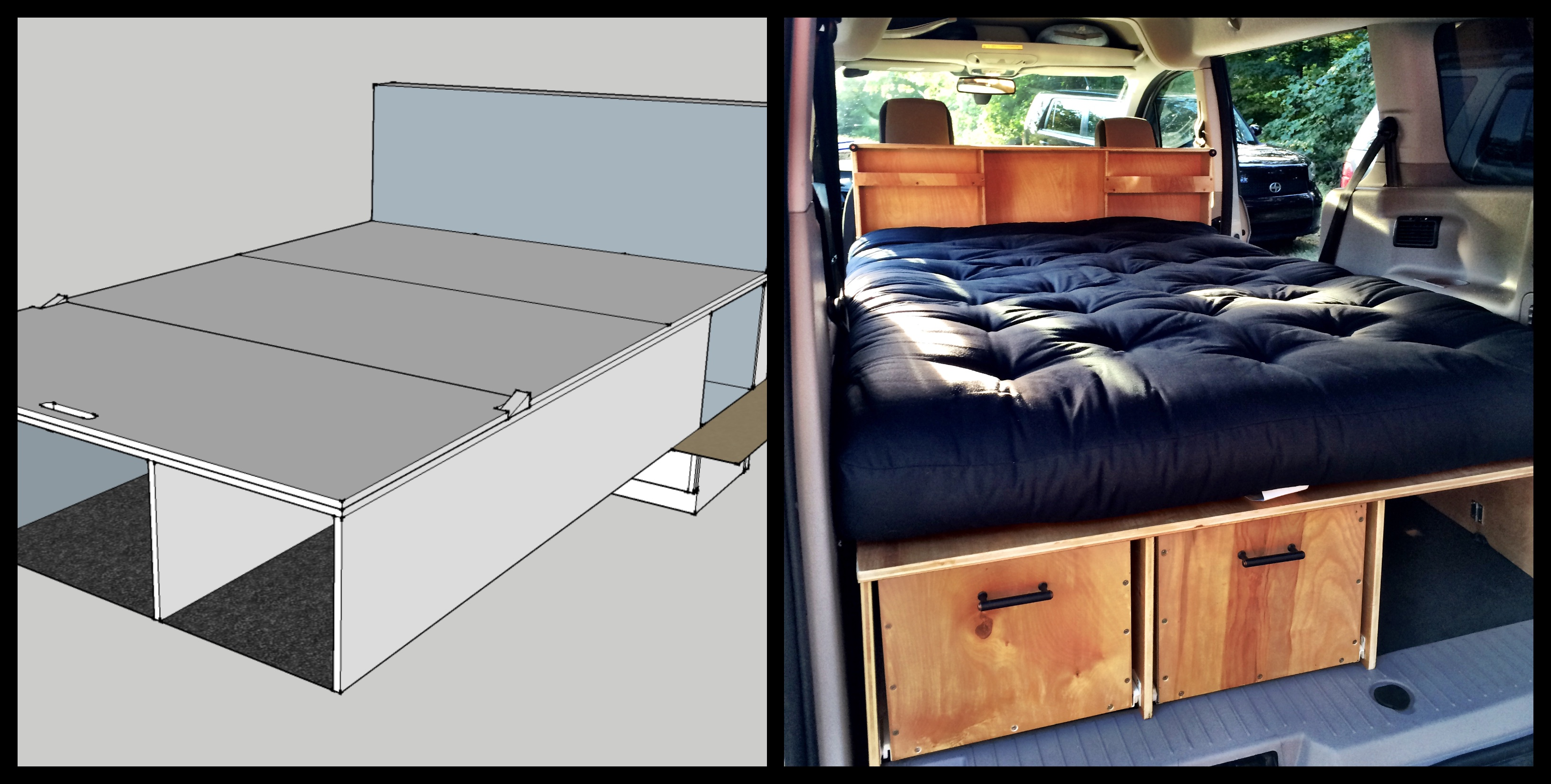 The Van With A Plan Our Diy Ford Transit Connect Camper